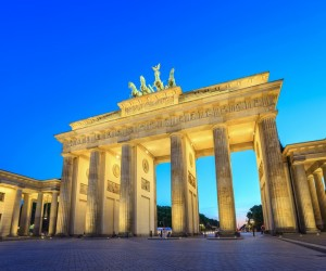 Brandenburg Gate at night - Berlin - Germany